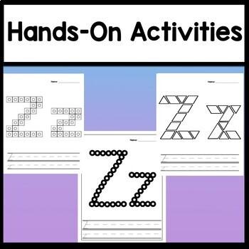 Letter Z Activities {Letter Z Book and 5 Letter Z Worksheets!}
