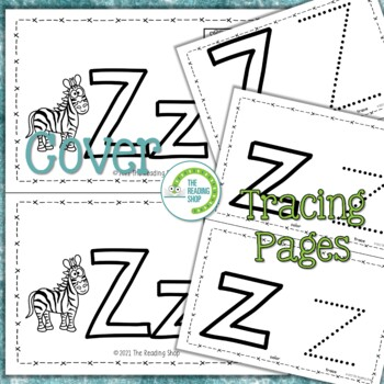 Letter Z Alphabet Book - Letter of the Week - ABC Book