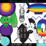 Letter Z Alphabet Clip Art