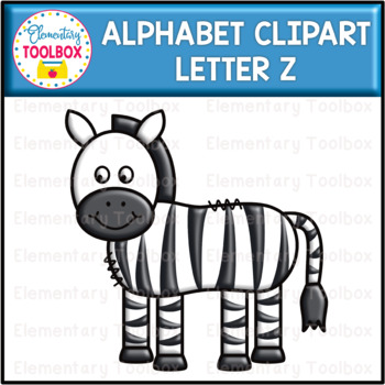 Letter Z Alphabet Clipart  (Beginning Sounds)