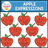 Apple Expressions Clipart