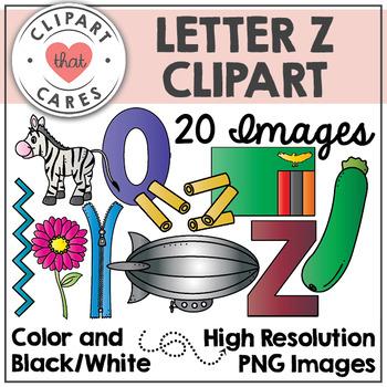 Letter Z Alphabet Clipart by Clipart That Cares
