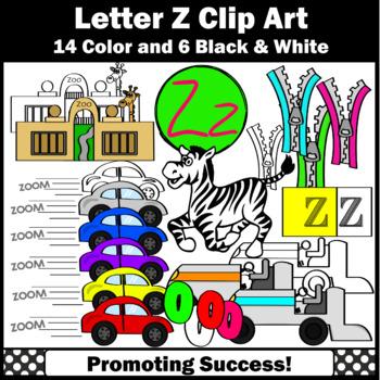 Letter Z Clipart Teaching Resources Teachers Pay Teachers