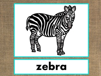 Letter Z Alphabet PowerPoint Fun & Colorful Words w/Pictures (Expandable)