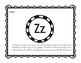 Letter Z Book: Handwriting Practice