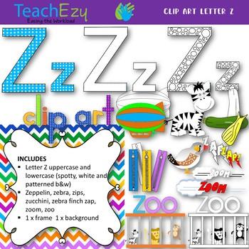 Letter Z Clip Art Pack