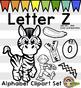 Letter Z Clip Art - Phonics Clipart Set/Beginning Sounds