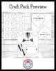 Letter Z Craft: Zebra