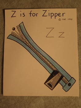 Letter Z Fun Alphabet Project