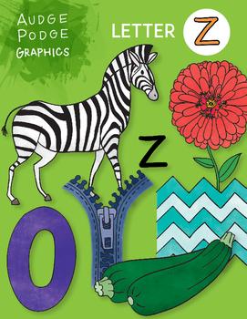 Letter Z Graphics