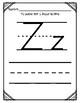 Aprendiendo la Letra Z