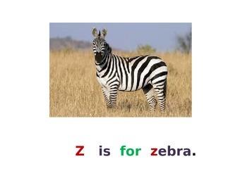 Letter Z PowerPoint