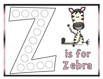 Letter Z - Preschool Unit