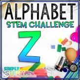 Letter Z STEM Challenge | Letter Z Activities