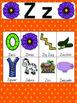 Letter Z Vocabulary Cards