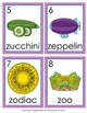 Letter Z Words Write the Room Activity