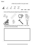 Letter Z Worksheet