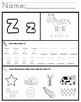 Letter Z Worksheets!