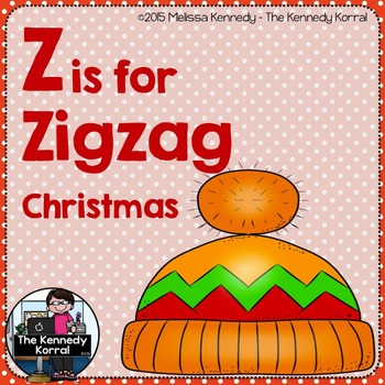 Christmas - Letter Z is for Zigzag
