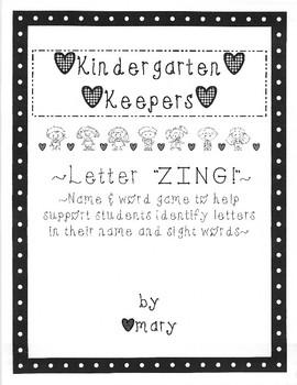 Letter Zing