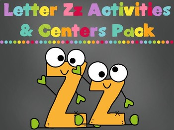 Letter Zz Activities Pack (CCSS)