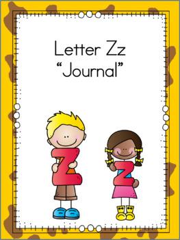 Letter Zz Journal