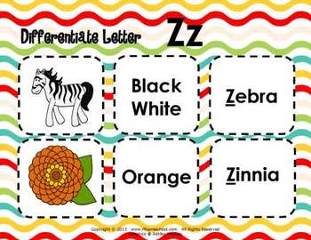 Letter Zz Language & Literacy Activity Center {COMMON CORE ALIGNED}