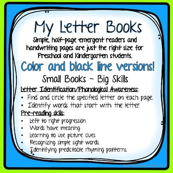 Letter Z Emergent Reader,with HWT Practice and Letter Recognition and Rhyme