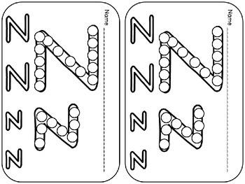 Letter Zz Mega Pack- Kindergarten Alphabet- Handwriting, Little Books, and MORE!