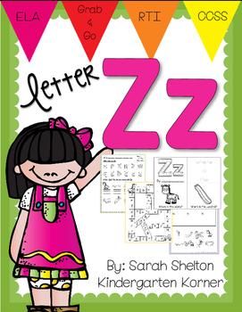 Letter Zz Practice (RTI)