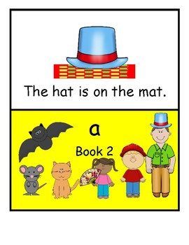 Letter a Early Reader Booklet Nr 2