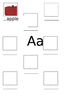 Letter 'a' word find
