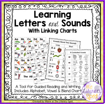 Letter and Blends Sound Linking Charts