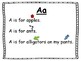 Letter and Digraph Poems and Activities
