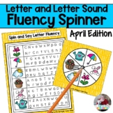Letter and Letter Sound Fluency- April Edition