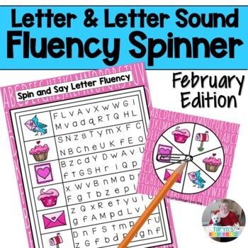 Letter and Letter Sound Fluency- February Edition