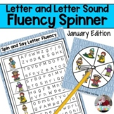 Letter and Letter Sound Fluency- January Edition