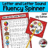 Letter and Letter Sound Fluency- June & July Edition