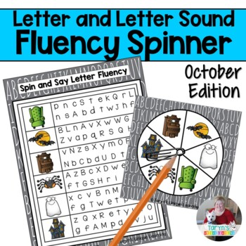 Letter and Letter Sound Fluency- October Edition