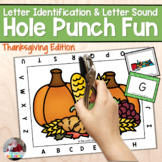 Letter Recognition and Sounds- Thanksgiving/November Hole
