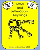 Letter and Letter-Sound Key Rings