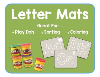 Letter and Letter Sound Mats