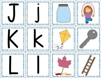 Letter and Letter Sound Memory