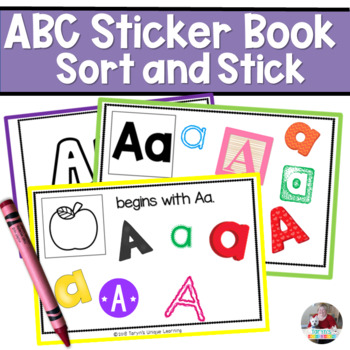 Letter and Letter Sounds Sticker Book