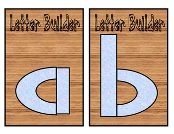Letter and Number Builders