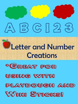 Letter and Number Creations