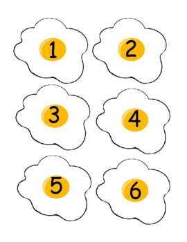 Letter and Number Eggs
