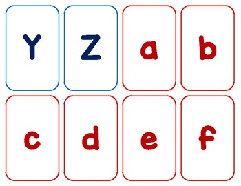 Letter and Number Flashcards