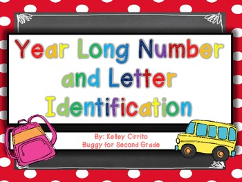 Letter and Number Identification