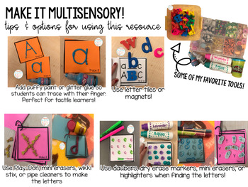 Letter and Number Interventions: Perfect for RTI!